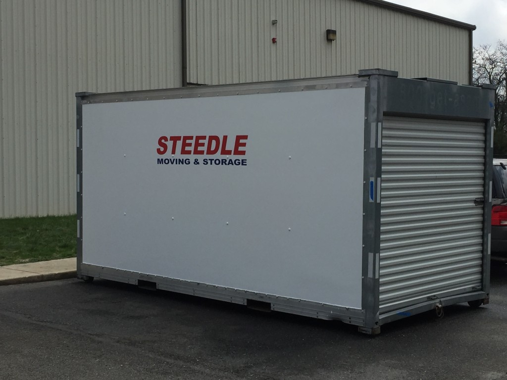 Portable Storage Containers Steedle Moving