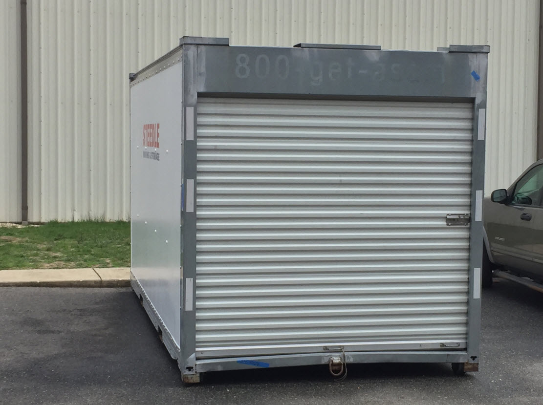 Portable Storage Containers | Steedle Moving